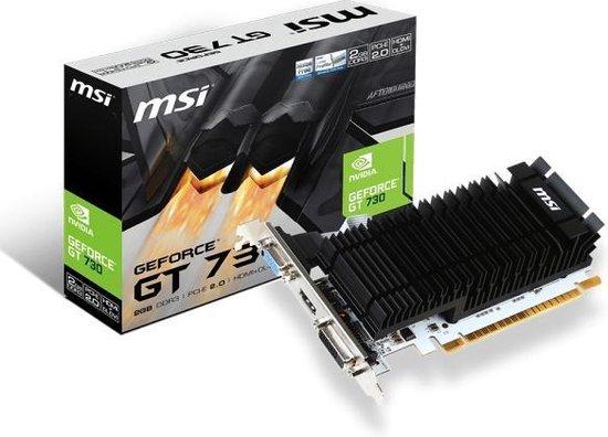MSI N730K-2GD3H/LP NVIDIA GeForce GT 730 2 GB GDDR3 - MSI