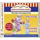 Boek cover Omas schönste Geburtstagslieder van