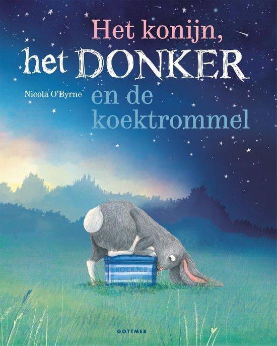 Boek cover Het konijn, het Donker en de koektrommel van Nicola OByrne (Hardcover)