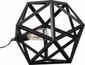 dePauwWonen Tafellamp Triangle Metaal Zwart