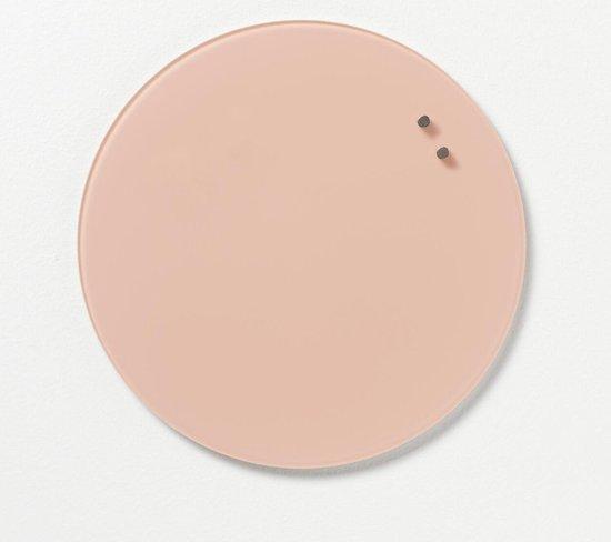 Afbeelding van NAGA Nord  Memobord glas 35cm Roze