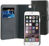 BeHello iPhone 6 Plus/6S Plus 2 in 1 Wallet Case Zwart