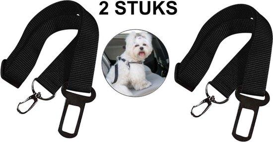 Emmy's store - Autoriem hond - Zwart - One size - Verstelbaar