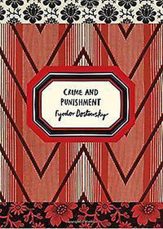 Boek cover Crime and Punishment (Vintage Classic Russians Series) van Fyodor Dostoyevsky (Paperback)