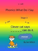 Omslag Phonics what do I say