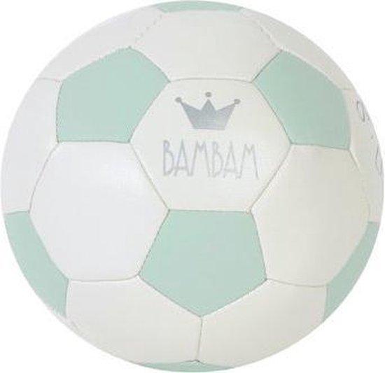 BamBam Kindervoetbal - Zacht Materiaal - Diameter 12 cm - Groen