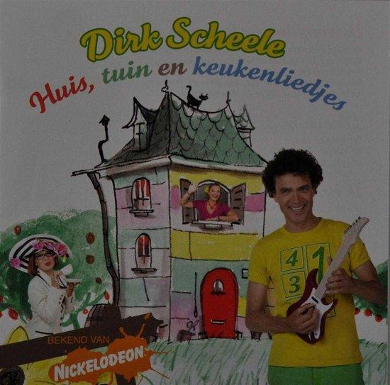 CD cover van Huis, Tuin En Keukenliedjes van Dirk Scheele