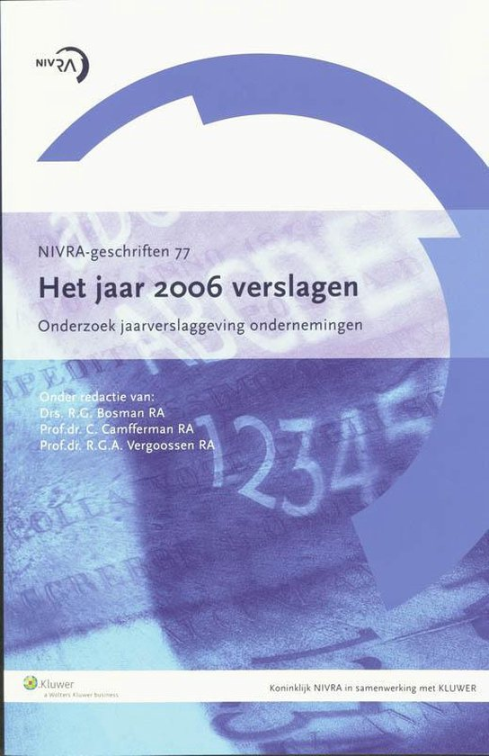 Cover van het boek 'Het jaar 2006 verslagen / druk 1'