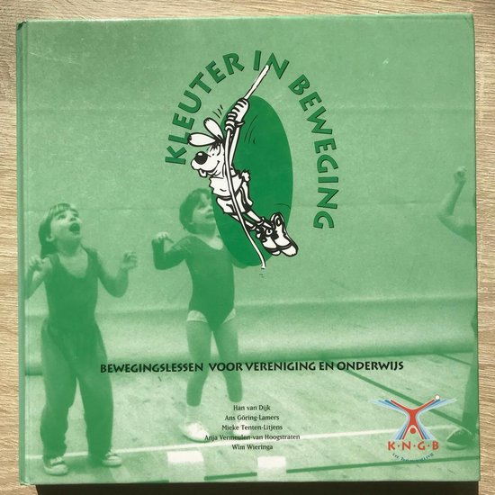 boek Kleuter in beweging met CD (bewegingslessen voor vereniging en onderwijs) - Han van Dijk  