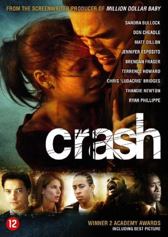 Cover van de film 'Crash'