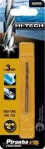 Piranha HI-TECH metaalboor 3mm X50700