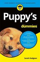 Voor Dummies - Puppy's voor Dummies