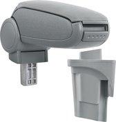 [pro.tec]® Armsteun-Seat Leon 1P-2005-2012-stof-grijs