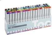 Copic markers, set A 72 kleuren