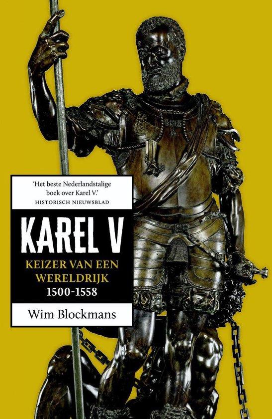 Cover van het boek 'Karel V'