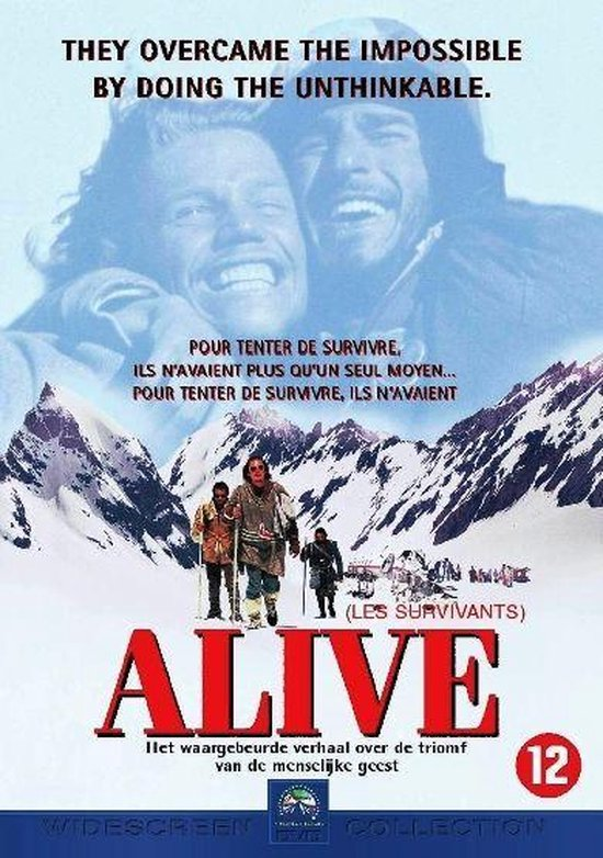 Cover van de film 'Alive'