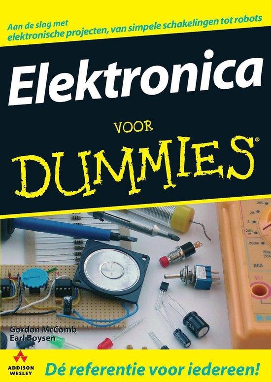 Cover van het boek 'Elektronica voor Dummies'