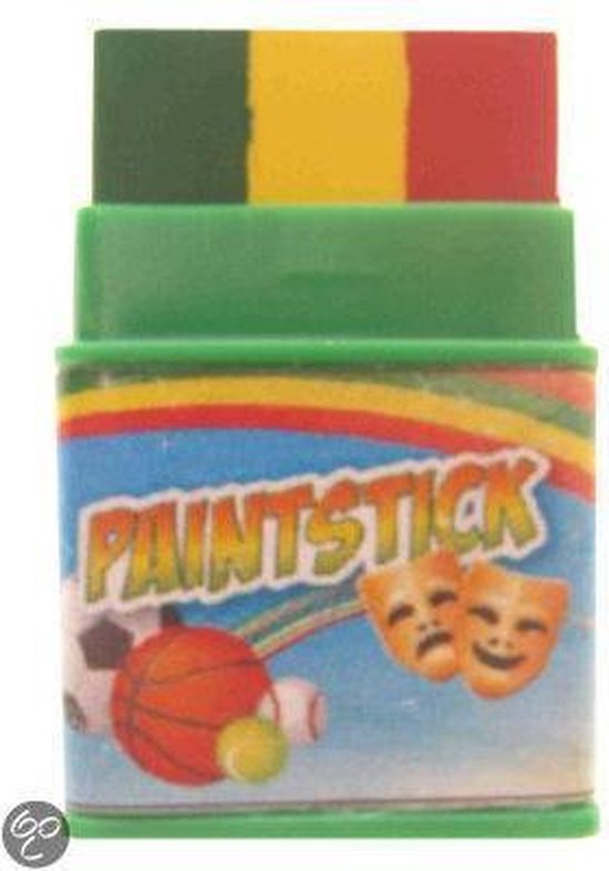 Push-up paint stick mini rood   geel   groen