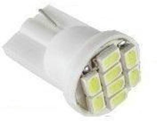 T10 168 194 8-SMD Witte LED