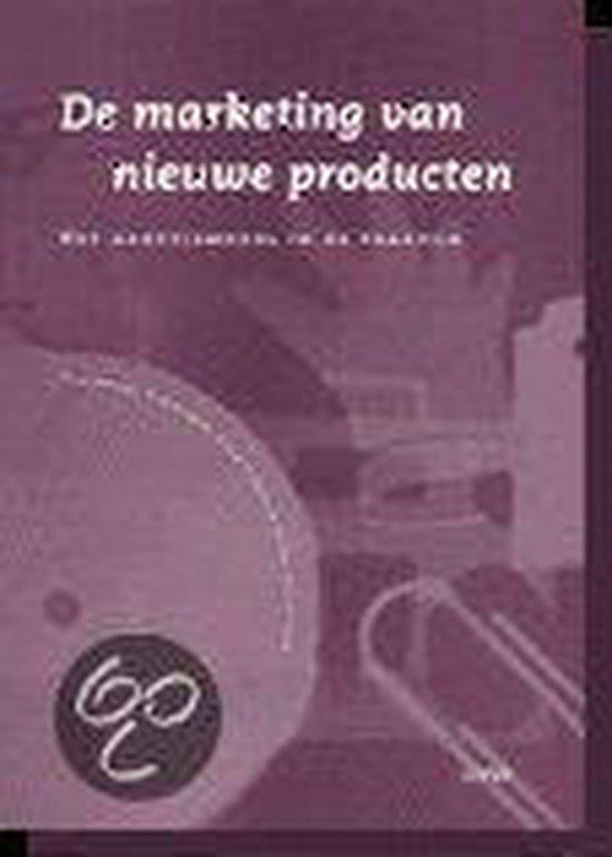 Cover van het boek 'De marketing van nieuwe producten / druk 1' van Yvonne M. van Everdingen en R.T. Frambach