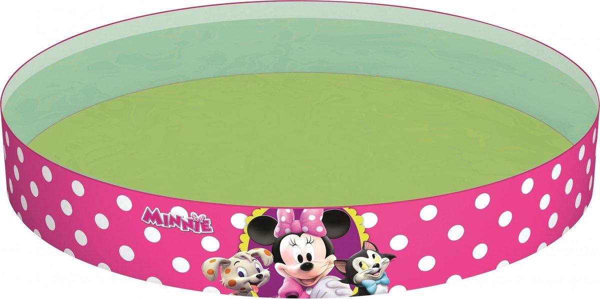 Bestway Opzetzwembad Minnie Mouse 152 X 25 Cm Roze