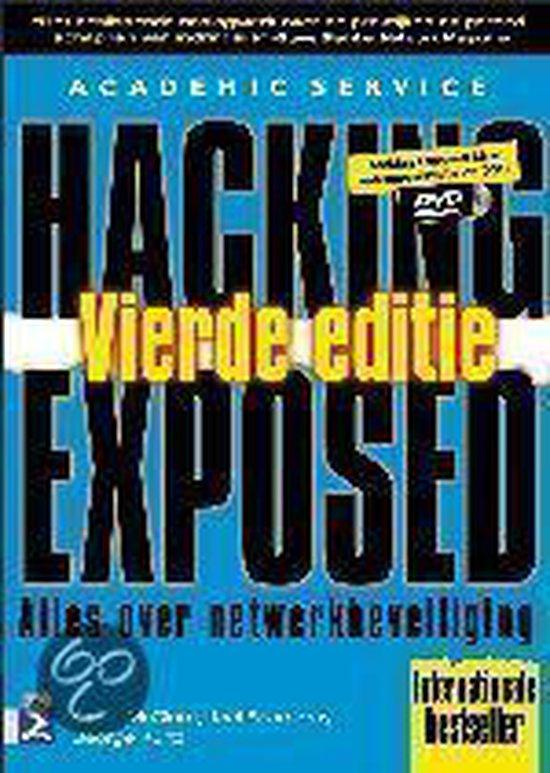 Cover van het boek 'Hacking exposed + CD-ROM'