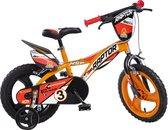 Kinderfiets Dino Bikes Raptor orange 16 inch (616LRP)