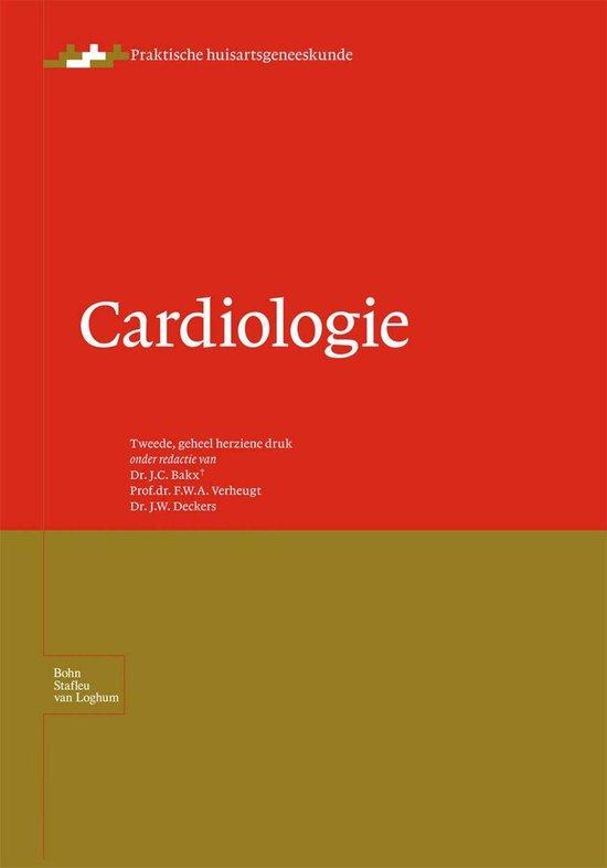 Boek cover Praktische huisartsgeneeskunde - Cardiologie van Bakx, J.C. (Onbekend)