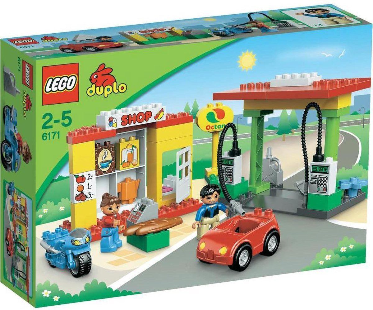 LEGO Duplo Benzinestation - 6171