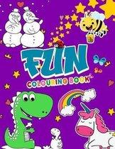 Fun Colouring Book: THE Fun Coloring Book