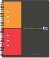 15x Oxford INTERNATIONAL Notebook Connect, zonder scanbare pagina's, 160 bladzijden, A5+, geruit 5mm