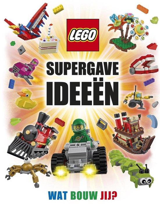 Boek cover Lego supergave ideeën van Daniel Lipkowitz (Hardcover)