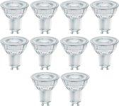 10 stuks - Osram LED GU10 4.5W 350lm GlowDim 2700K-1800K