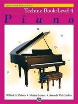 Boek cover Alfreds Basic Piano Library Technic, Bk 4 van Willard A Palmer