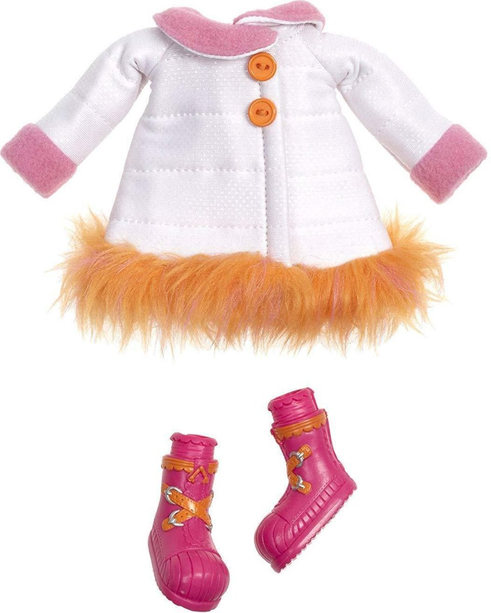 Lalaloopsy Sew Magical Poppenkleding Winter Coat Fashions Set