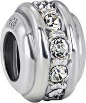 Quiges Bedel Bead - 925 Zilver - Ornament Kraal Charm - Z099