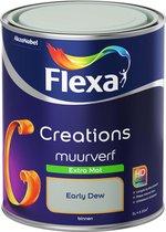Flexa Creations - Muurverf Extra Mat - Early Dew - 1 liter