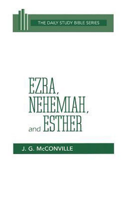 Boek cover Ezra Nehemiah and Esther (Dsb) Hc van J. G. Mcconville (Hardcover)
