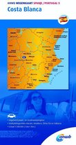 ANWB wegenkaart 5 - Costa Blanca