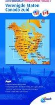 ANWB wegenkaart - ANWB Wegenkaart Verenigde Staten/Canada 2. Verenigde Staten/Canada zuid