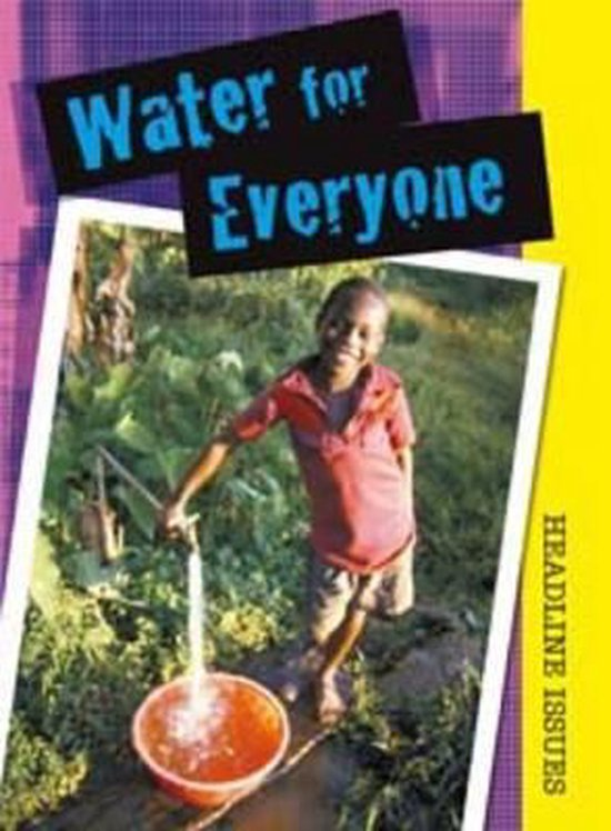 Boek cover Water for Everyone van Sarah Levete (Hardcover)