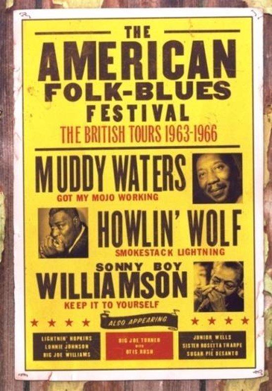 Cover van de film 'American Folk Blues Festivals 1963-1966'