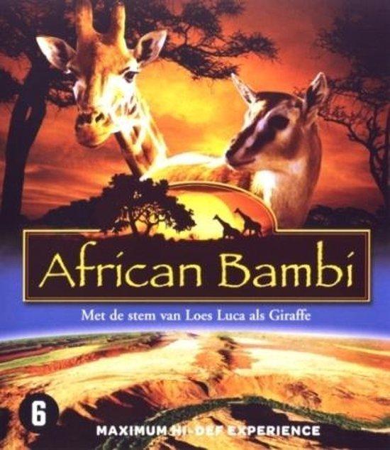Cover van de film 'African Bambi'