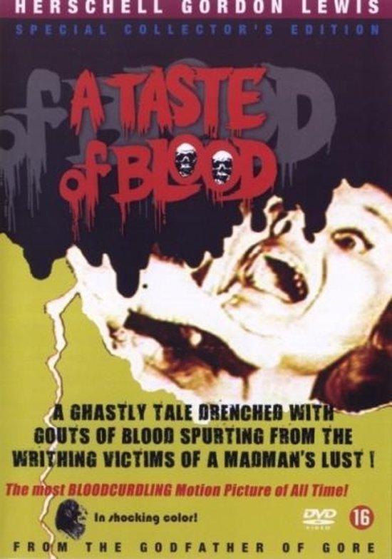 Cover van de film 'A Taste Of Blood'