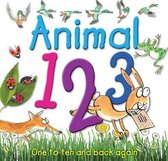 Boek cover Animal 123 van Kate Sheppard