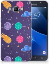 Samsung Galaxy J7 2016 Uniek TPU Hoesje Space