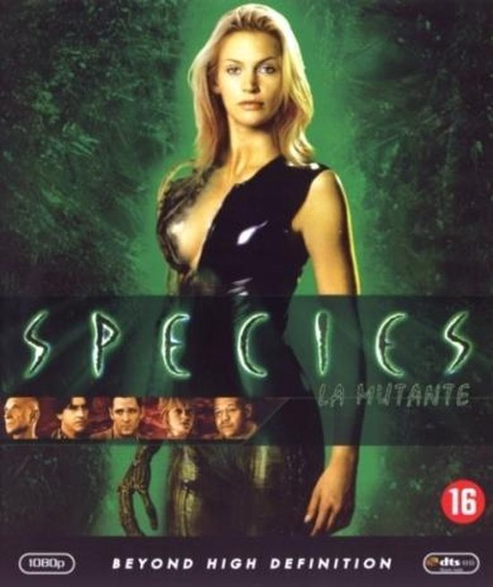 Cover van de film 'Species'