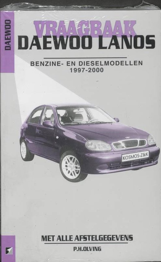Autovraagbaken - Vraagbaak Daewoo Lanos Benzine- en dieselmodellen 1997-2000 - none |