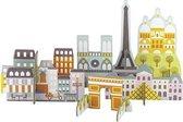 Petit Collage Pop-out Deluxe 3d Parijs 16-delig