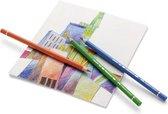 Kleurpotlood Faber-Castell Polychromos 134 karmozijnrood